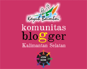 Komunias Blogger Kalsel Kayuh Baimbai